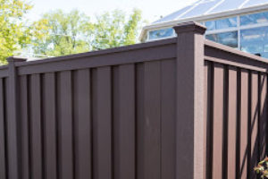 PVC fence installed in Buffalo Grove