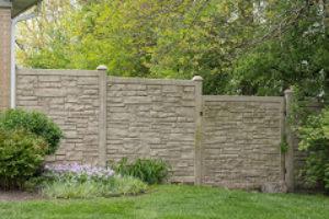 pvc decorative fence