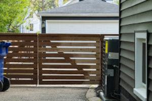 wood fence northbrook