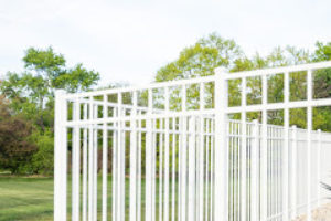 Aluminum fence installed Rolling Meadows